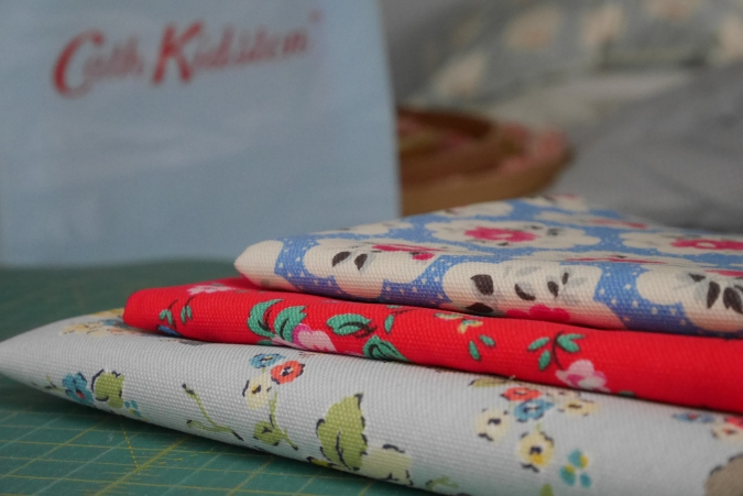 love these @CathKidston remnants, photo by @missknitta
