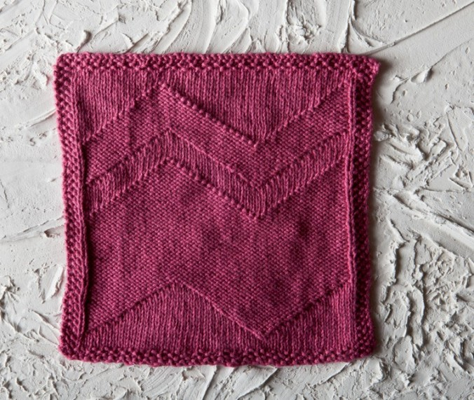 Big Zig Dishcloth FREE pattern by Kendra Nitta @missknitta. Now available for free download at knitpicks.com