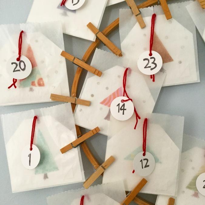 Advent Calendar by Kendra Nitta @missknitta