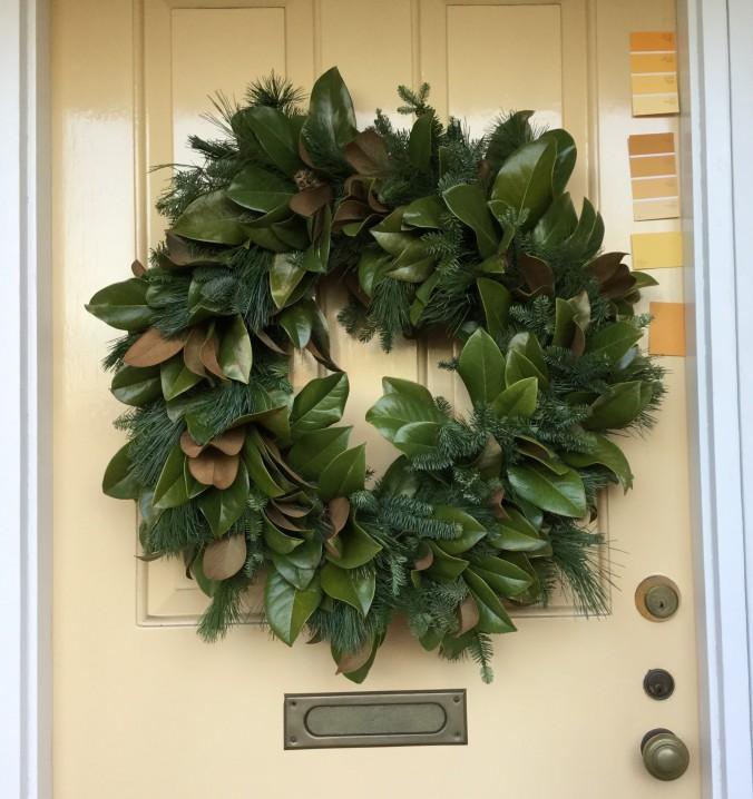 Wreath by Kendra Nitta @missknitta