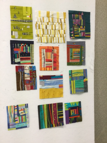 Small Studies with Gwen Marston #quiltcon2016