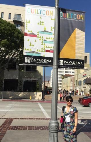 Kendra Nitta @missknitta at #QuiltCon2016 in Pasadena CA